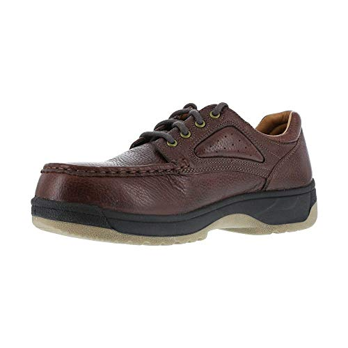 FS240 Florsheim Women's Eurocasual Safety Shoes - Dark Brown - 10.0\EW