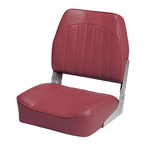 Wise 8WD734PLS-712 Low Back Boat Seat, Red by Wise (Image #1)