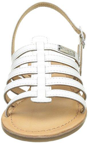 Gladiador blanc Havapo Sandalias Belarbi De Par Mujer Les Tropéziennes Para M Blanco xPfZ4qAq