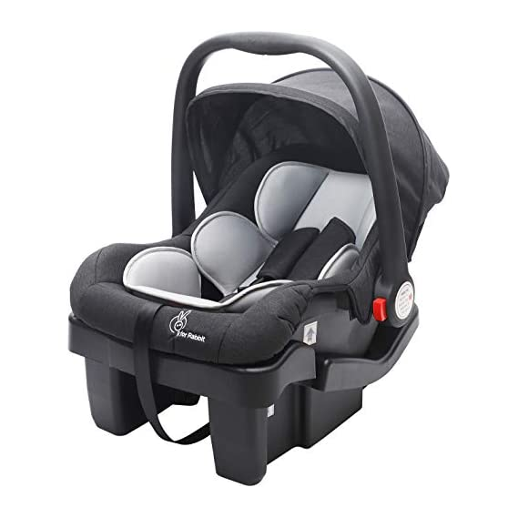 R for Rabbit Picaboo Grand 4 in 1 Multi Purpose Baby Carry Cot Cum Car Seat with 3 Level Recline Position and Detachable