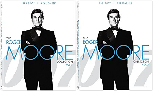 007 James Bond Roger Moore Blu-Ray Collection Volumes 1 & 2 Bundle