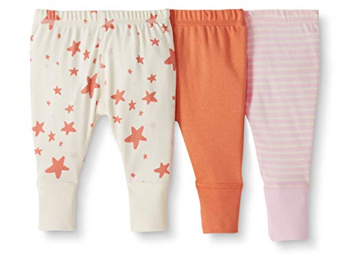 Moon and Back by Hanna Andersson Baby/Toddler 3-Pack Organic Cotton Jogger, Pink, 18-24 months from Moon and Back by Hanna Andersson