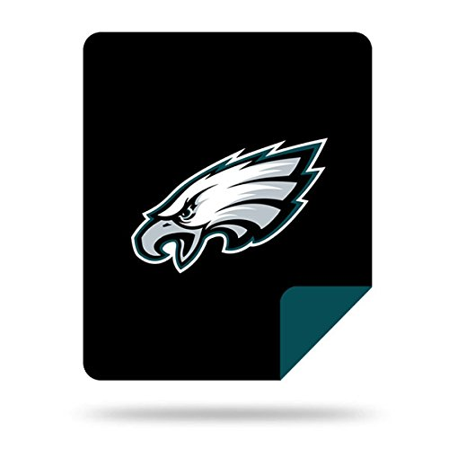 Officially Licensed NFL Philadelphia Eagles Nflnfl Denali Silver Knit Throw Blanket, Green, 60