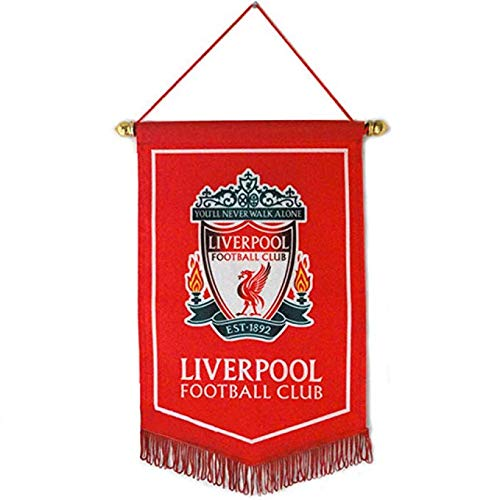 Sportky Football Club Flags Soccer Vertical Banner Flag Indoor and Outdoor Flags Bar/Club/Bedroom Decoration Hanging Flags (Liverpool, 3824cm(159.4 - Flag Liverpool