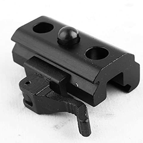 soled 1 X Quick Detach Cam Lock QD Bipod Sling Adapter for Picatinny Weaver Rails (1 8 Snare Lock)