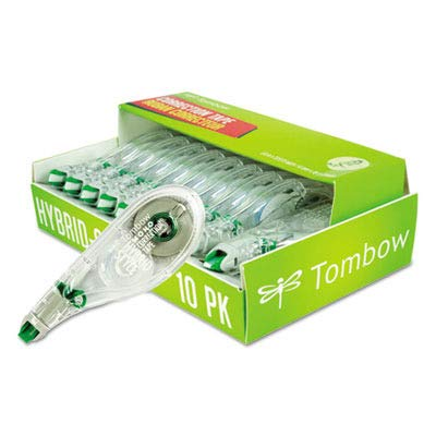 TOM68721 - MONO Hybrid Style Correction Tape, 10 Pack (2 count) by Tombow (Image #1)