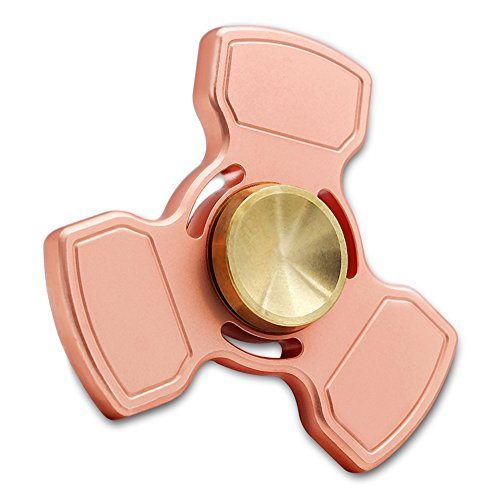 Red Copper Fidget Spinner Metal Hand Spinner Fidget Toys 5-7 Minutes Presentski (Style Three)