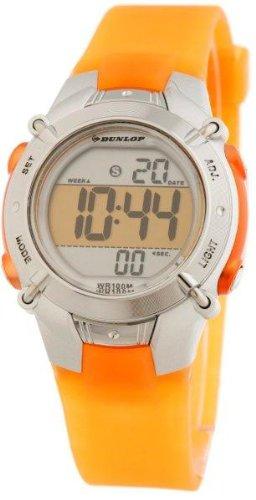 Dunlop Reloj Digital para Mujer de Automático con Correa en Resina DUN-100-L08: Amazon.es: Relojes