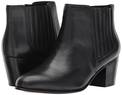 Black Clarks donna Stivali Leather Leather Black Clarks donna Stivali Clarks 55nxA8wq