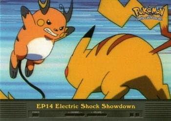 Amazon.com: Pokemon Card - Electric Shock Showdown EP14 - Topps: Toys &  Games