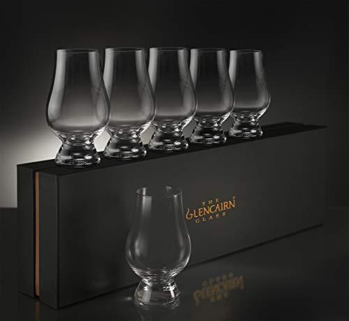 (Glencairn Whiskey Glass Set of 6 in Deluxe Velvet Gift Box)