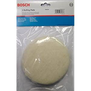 Bosch RS6029 Hook & Loop Buffing Pads 2pcs.