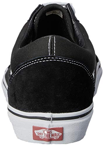 white Ua Vans Homme Old black Sneakers Noir Basses Skool zwdpCOwq