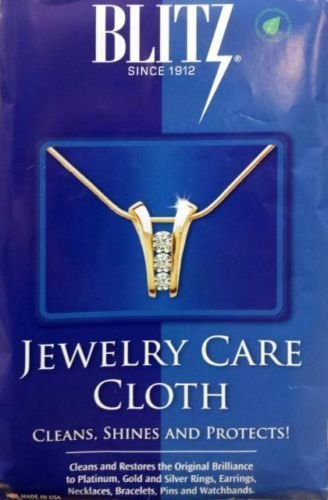Blitz Jewelry Care, Cleans, Shines & Protects Cloth