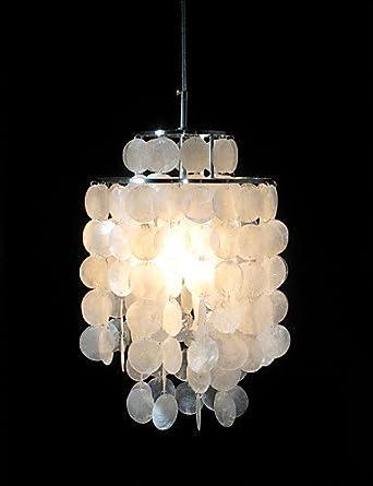Camelia en la solapa y lámpara de techo VP Fun diseño de ...