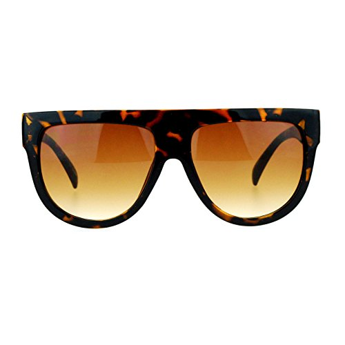 SA106 Oversized Mobster Plastic Sunglasses