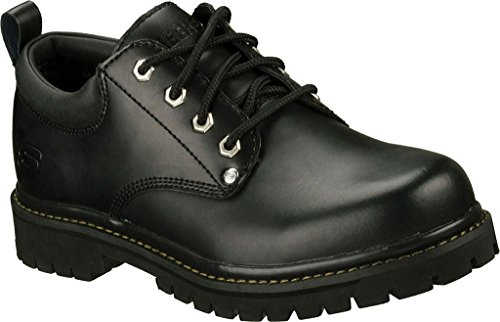 Skechers USA Men's Alley Cat Utility Shoe Black Oily Leather (Bol) discount 2014 pre order cheap price whhboUq4