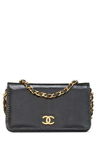 CHANEL Exotic Karung Full Flap Mini (Pre-Owned)