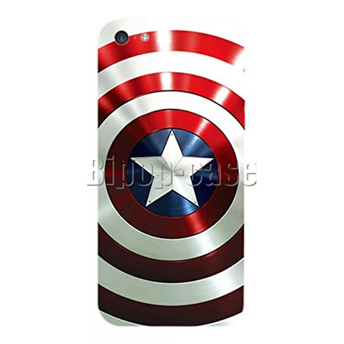 COQUE PROTECTION TELEPHONE IPHONE 5C - BOUCLIER CAPTAIN AMERICA