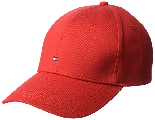Tommy Jeans Men's Classic BB Dad Hat, Apple Red, OS