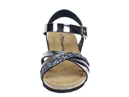 Tamaris Women's Fashion Sandals Grey rJiMgp