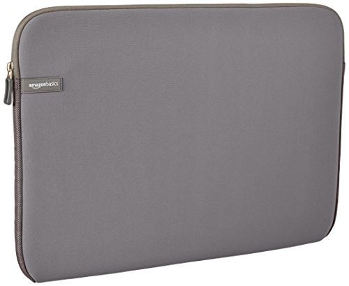 AmazonBasics 17 3 Inch Laptop Sleeve Grey