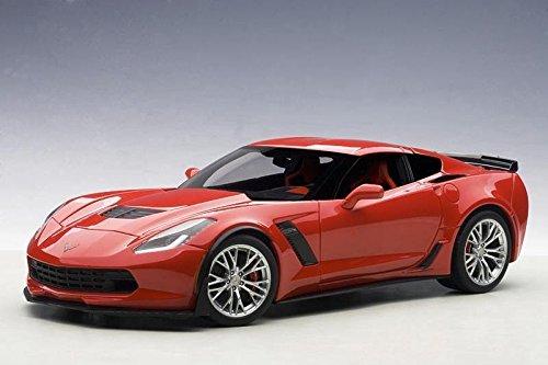 AUTOart 71262 1/18 Composite Die-Cast: Chevrolet Corvette C7 Z06, Torch Red, Composi ()