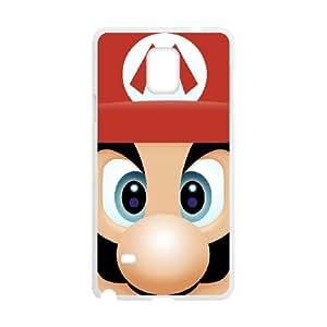 Samsung Galaxy S4 Phone Case White Super Mario Bros HOD549569