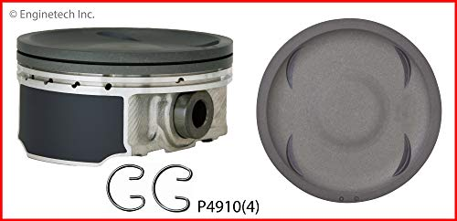 - ENGINETECH P4910(4) STD PISTONS w/COATED SKIRTS Fits: 2004-2014 SUBARU 2.5L EJ255 TURBO IMPREZA WRX FORESTER LEGACY BAJA