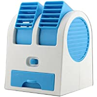 Mchoice Portable Mini USB Air Conditioner Cooler Fan Rechargeable for Outdoor Desktop