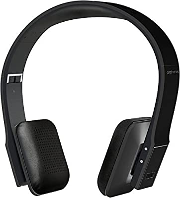 SHARPER IMAGE Premium HD Bluetooth Headphones with Built-In Mic, Volume Control, Hard Case