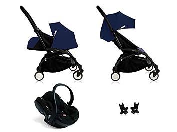 Babyzen Edition spéciale Nouvelle Poussette Yoyo Plus complète Cadre Noir habillages 0+ et 6+ Bleu A: Amazon.es: Juguetes y juegos