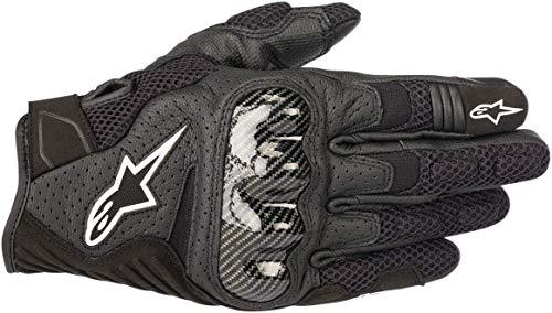 Alpinestars Motorradhandschuhe Smx-1 Air V2 Gloves Black, Schwarz, L
