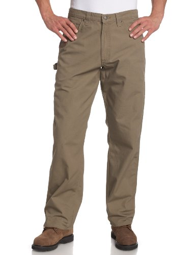 (Riggs Workwear By Wrangler Men's Ripstop Carpenter Jean,Bark,32x32)