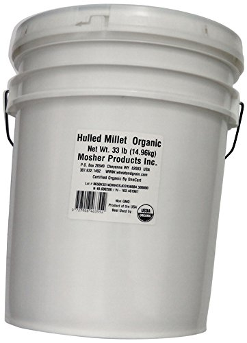 Mosher Products Organic Hulled Millet, 33 Pound by Mosher Products (Image #1)