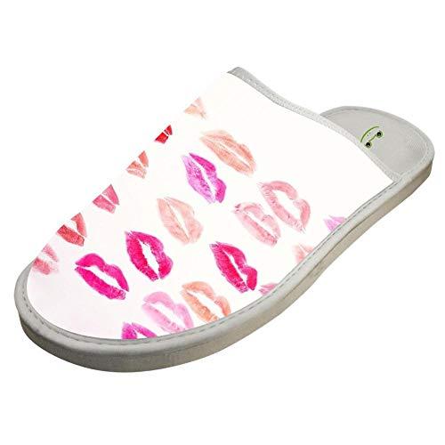 Foam Colored Slip Non Lips White Slippers Indoor Cotton Washable E77aw