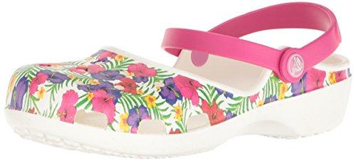 Crocs Women's Karin Graphic Clog White/Floral
