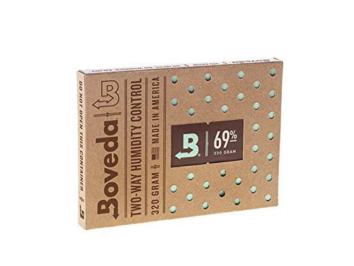 BOVEDA 69 Percent RH (320 Gram) - 2-Way Humidity Control Pack ()