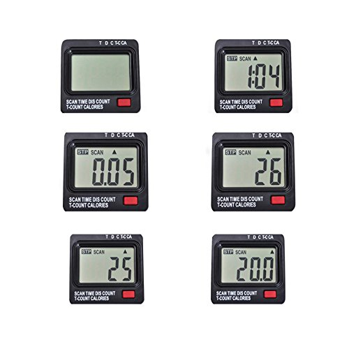 Pinty Premium Portable Mini Exercise Bike Pedal Exerciser Gym Fitness Leg & Cardio Training w/LCD Display Compact Design (sliver)