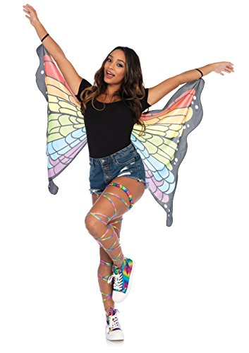 Rainbow Butterfly Wings Costume Accessory - Butterfly Wings For Halloween