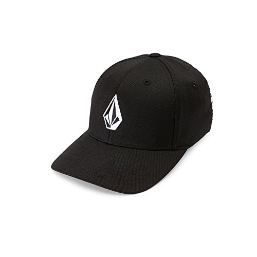Volcom Big Boys' Full Stone X-Fit Hat Youth, Black, One (Big Boy Hats)