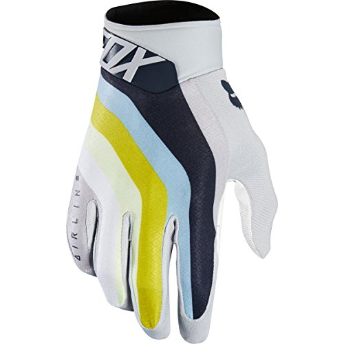 - Fox Racing Airline Draftr Men's Off-Road Motorcycle Gloves - Light Grey/Small