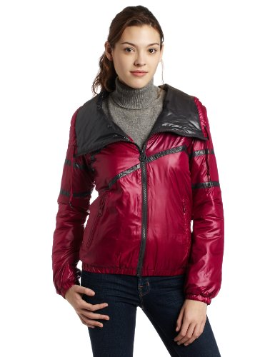 55DSL by Diesel Juniors Joy-Ello Jacket, Dark Pink, Large (Jacket 55dsl)