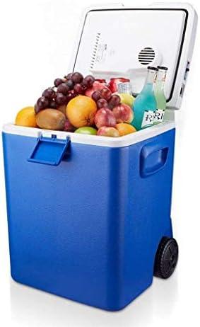 ZWH-ZWH ミニ冷蔵庫エレクトリックモバイルクーラーやヒーター、DC自動車プラグ12Vと30Lポータブル冷蔵庫車 車載用冷蔵庫
