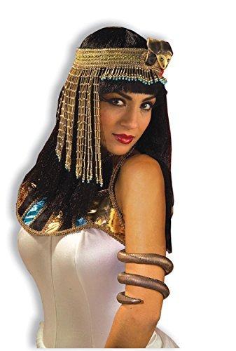 Forum Novelties asp Snake Beaded Headpiece Egyptian Cleopatra Halloween Accessory -
