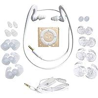 Underwater Audio- Waterproof iPod Shuffle, HydroActive Headphone Bundle (Gold)