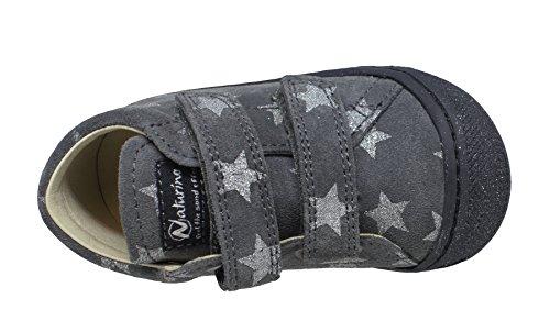 Anthrazit Chaussures 0b01 Grau Fille pour Pas bébé Naturino 15 Premiers 0012012904 qSgvFg