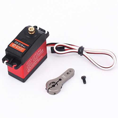 1X DS3218 update servo 20KG full metal gear digital servo baja servo Waterproof servo for baja cars( Control Angle 270)