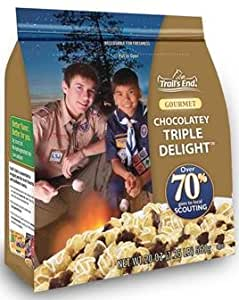 Trails End Boy Scouts Gourmet Carmel Popcorn Chocolate Popcorn Chocolate Pretzels & Kettle Corn for Superbowl