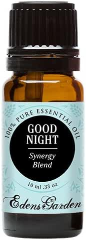Edens Garden Good Night 10 ml Pure Therapeutic Grade Essential Oil Synergy Blend GC/MS Tested CPTG